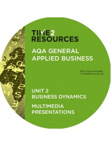 AQA Applied General Business Unit 2: Business Dynamics Multimedia Presentations