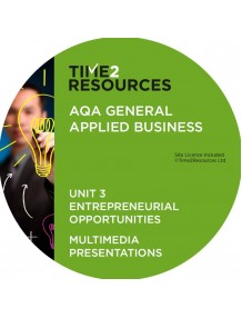 AQA Applied General Business Unit 3: Entrepreneurial Opportunities Multimedia Presentations