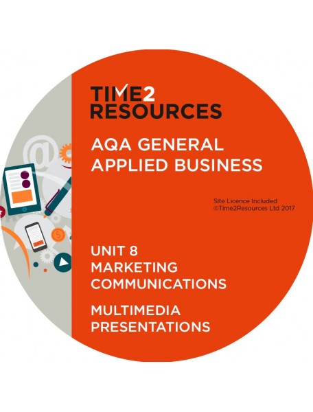 AQA Applied General Business Unit 8: Marketing communications Multimedia Presentations