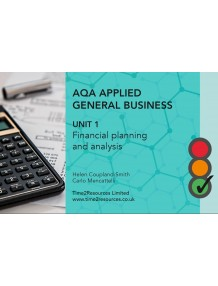 AQA General Applied Business Unit 1 Financial Planning and Analysis Revision Guides (10)