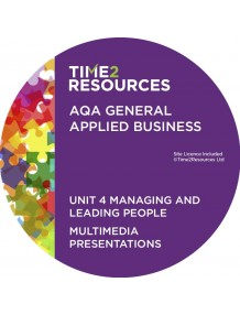 AQA Applied General Business Unit 4: Managing & leading people Multimedia Presentations