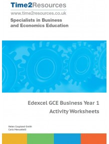 Edexcel GCE Business Year 1 & AS Practice Examination Papers CD & printed
