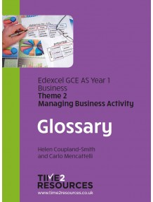 Edexcel GCE Business Year 1 Glossary Book (10)