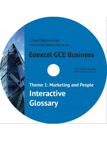 Edexcel GCE Business Theme 1 Interactive Glossary