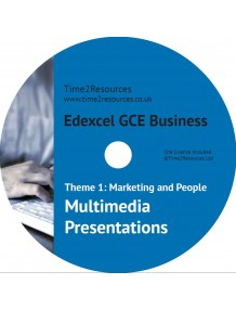 Edexcel GCE Business Theme 1 Multimedia Presentations