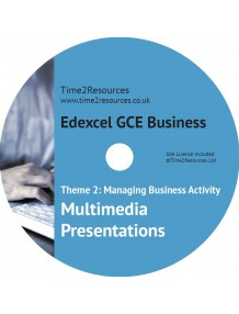 Edexcel GCE Business Theme 2 Multimedia Presentations