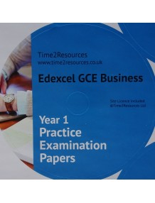 Edexcel GCE Business Year 1 & AS Practice Examination Papers CD only