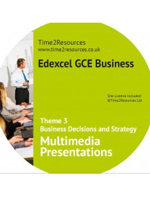 Edexcel GCE Business Theme 3 Multimedia Presentations
