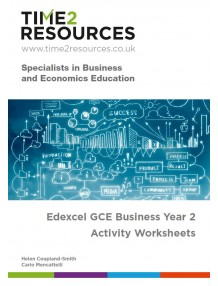 Edexcel GCE Business Year 2 Activity Worksheets CD & Printed