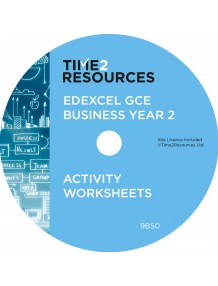 Edexcel GCE Business Year 2 Activity Worksheets CD only