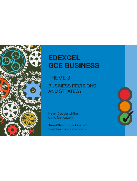 Edexcel GCE Business Theme 3 Revision Guides (50)