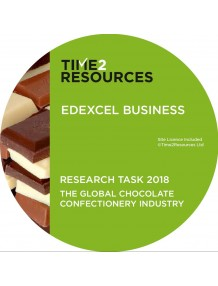 Edexcel GCE Business Paper 3 support CD The Global Confectionery Industry