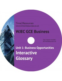 WJEC/Eduqas GCE Business Unit 1 Interactive Glossary