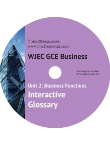 WJEC/Eduqas GCE Business Unit 2 Interactive Glossary