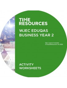 WJEC/Eduqas GCE Business Year 2 Activity Worksheets
