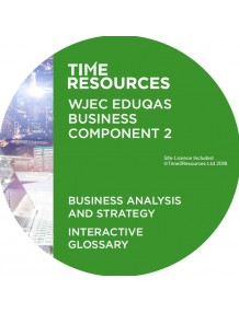 WJEC/Eduqas GCE Business Unit 3 Business Analysis and Strategy Interactive Glossary