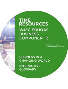 WJEC/Eduqas GCE Business Unit 4 Business in a Changing World Interactive Glossary