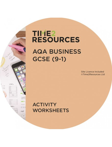 GCSE (9-1) AQA Business Activity Worksheets
