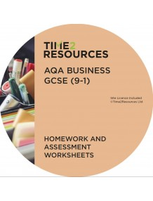 GCSE (9-1) AQA Business Homework and Assessment Worksheets
