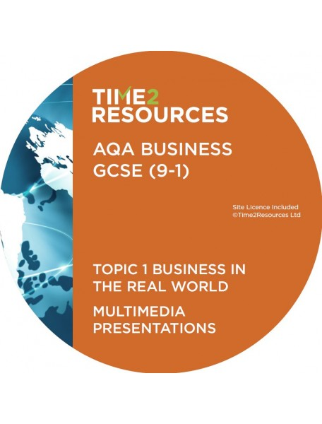 GCSE (9-1) AQA Business Multimedia Presentations Topic 1: Business in the real world