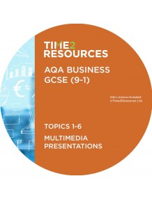 GCSE (9-1) AQA Business Multimedia Presentations Topics 1-6