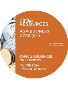 GCSE (9-1) AQA Business Multimedia Presentations Topic 2: Influences on business