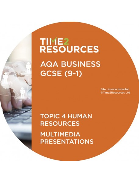 GCSE (9-1) AQA Business Multimedia Presentations Topic 4: Human resources