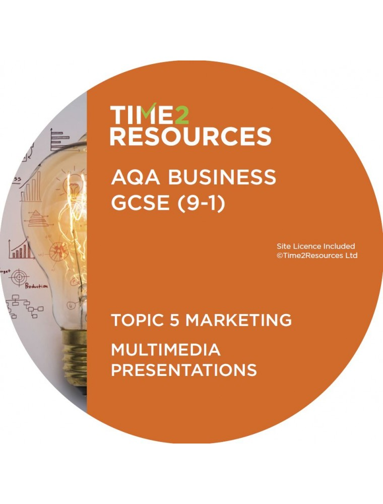 gcse aqa business multimedia presentations topic marketing gcse 9 1 aqa business multimedia presentations topic 5 marketing