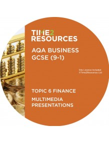 GCSE (9-1) AQA Business Multimedia Presentations Topic 6: Finance