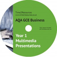 AQA GCE Business Year 1 Multimedia Presentations