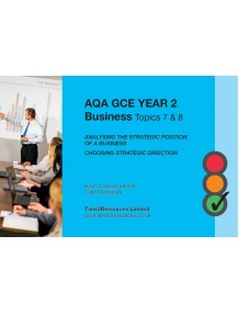 AQA GCE Business Revision Guides (10)  Topics 7 and 8