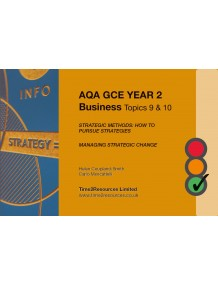 AQA GCE Business Revision Guides (10)  Topics 9 and 10