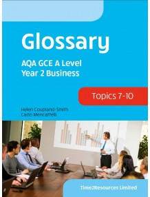 AQA GCE Business Year 2 Glossary Book (10)