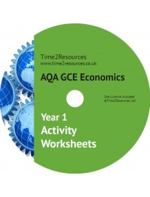 AQA GCE Economics Year 1 Activity Worksheets CD only