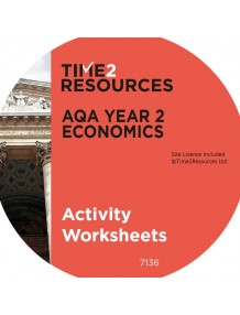 AQA GCE Economics Year 2 Activity Worksheets CD & Printed