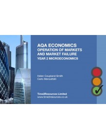 AQA GCE Economics Individuals, Firms, Markets and Market Failure (Year 2) Revision Guides (10)