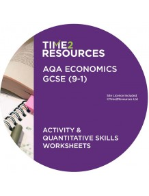 GCSE (9-1) AQA Economics Activity & Quantitative Skills Worksheets