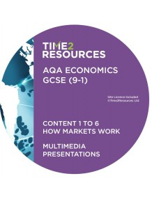 GCSE (9-1) AQA Economics Multimedia Presentations Content 1 to 6 How markets work