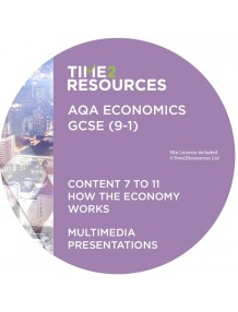 GCSE (9-1) AQA Economics Multimedia Presentations Content 7 to 11 How the economy works