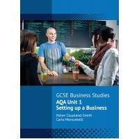 AQA Unit 1 Setting up a Business Revision Guide (Pack of 50)