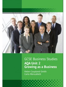 AQA Unit 2 Growing as a Business Revision Guide (pack of 10)