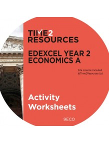 Edexcel GCE Economics A Year 2 Activity Worksheets CD & Printed