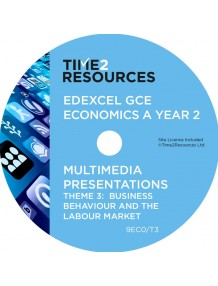 Edexcel GCE Economics A Theme 3 Multimedia Presentations