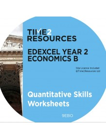 Edexcel GCE Economics B Year 2 Quantitative Skills Worksheets CD only