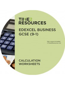 GCSE (9-1) Edexcel Business Calculation Worksheets
