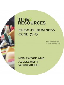 GCSE (9-1) Edexcel Business Homework and Assessment Worksheets
