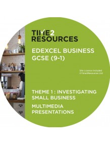 GCSE (9-1) Edexcel Business Multimedia Presentations Theme 1: Investigating small business