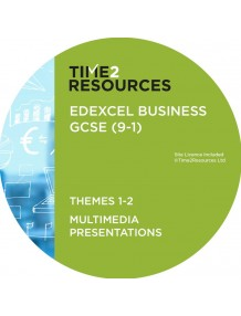 GCSE (9-1) Edexcel Business Multimedia Presentations Themes 1 and 2