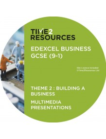 GCSE (9-1) Edexcel Business Multimedia Presentations Theme 2: Building a business