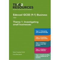 GCSE (9-1) Edexcel Business Theme 1 Investigating Small Businesses Course Guide - pack of 10